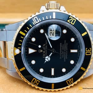Rolex Submariner Black Deal Mixto