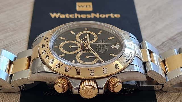 Rolex Daytona - 904L Steel and Gold